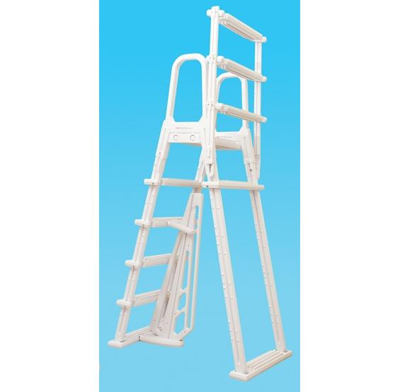 A-Frame Flip Up Above Ground Pool Ladder | PC Pools