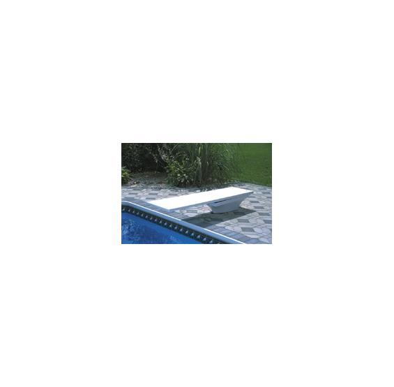 Flyte Deck II Dive Stand w/jig - White for Diving Board