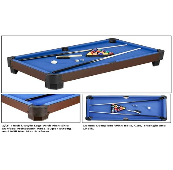 40in Table Top Pool Table