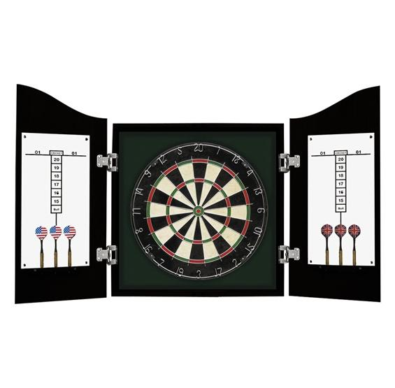 Centerpoint Solid Wood Dart Cabinet Set
