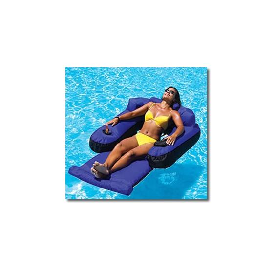 Ultimate Floating Pool Lounger
