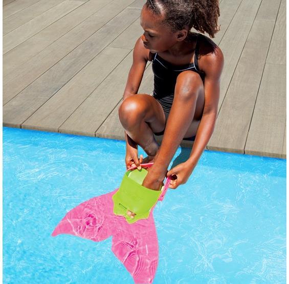 Mermaid Swim Fin Pink Pc Pools
