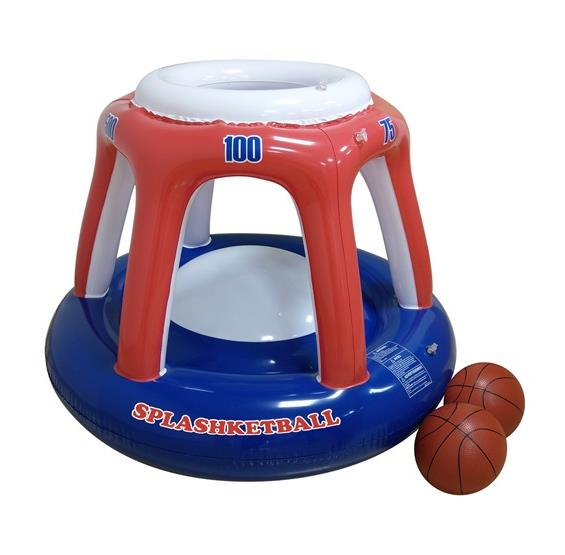 Blow Up Splashketball - Inflating Basketball Pool Toy