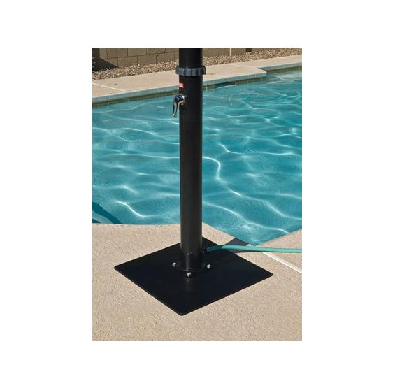 solar pool cover reel instructions