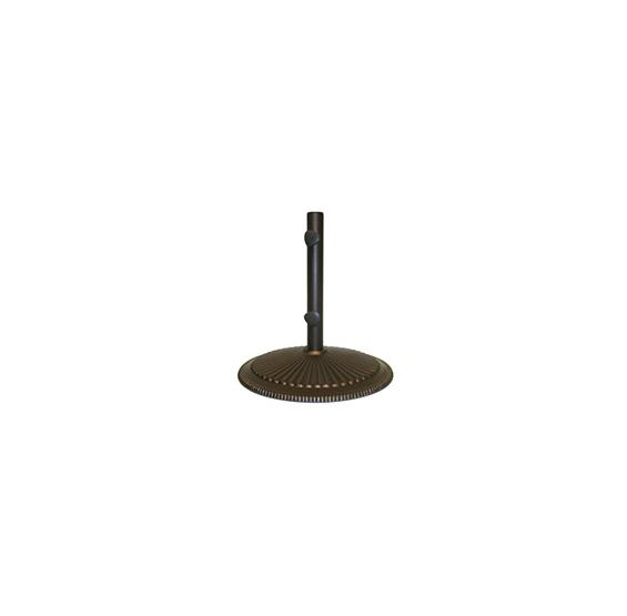 Catalina Market Umbrella Cast Iron Base - 50 lbs