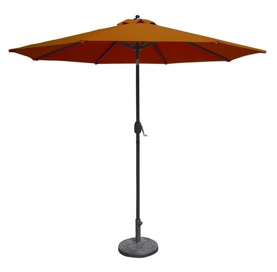 Patio Umbrella Alternative: Mirage 9-ft Octagonal Market Umbrella W/ Auto-Tilt In