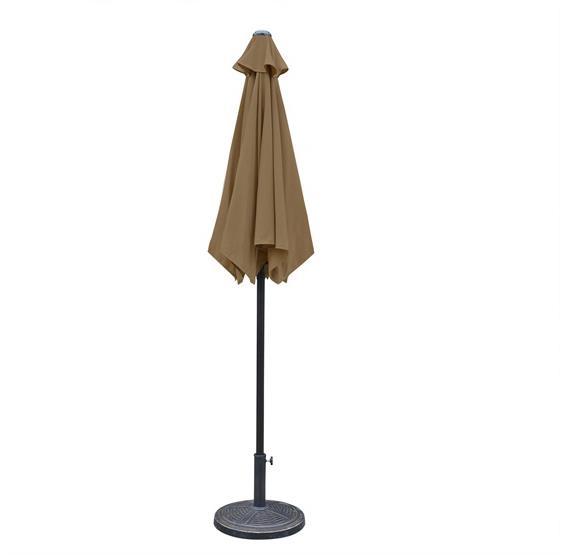 Patio Umbrella Alternative: Bistro 7.5-ft Hexagonal Market Umbrella