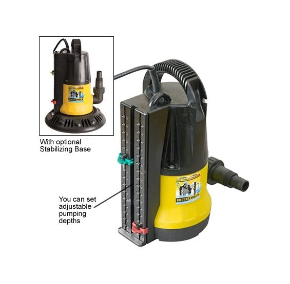 Brute Force In Ground Pool Cover Pump 2450 GPH