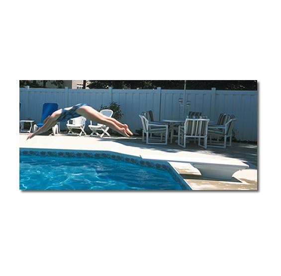 Fibre-Dive Diving Board (White)