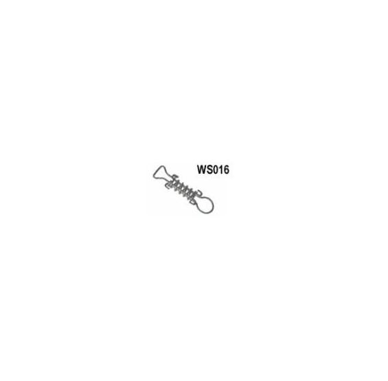 """STAINLESS STEEL SHORT SPRG 5"""""""