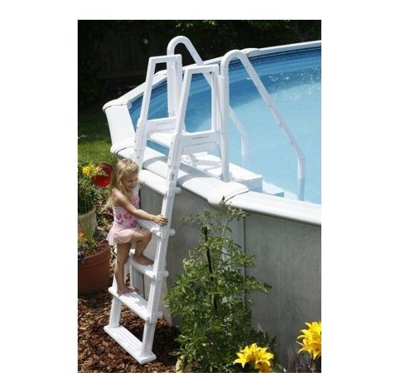blue wave easy pool step ladder attachment