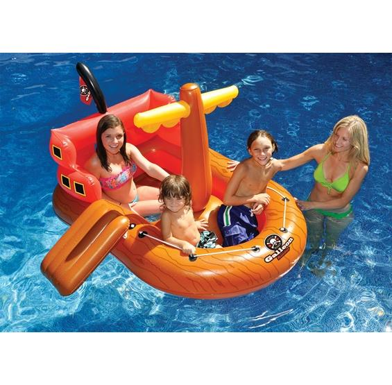 Galleon Raider Pirate Ship Pool Float Pc Pools