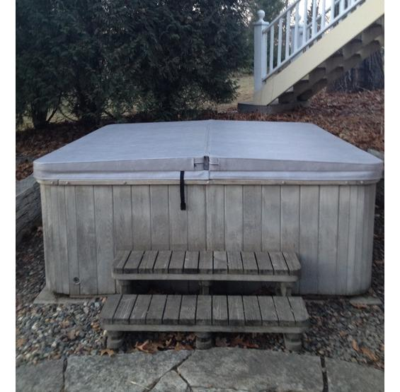 Gray Thermal Guard Spa Cover
