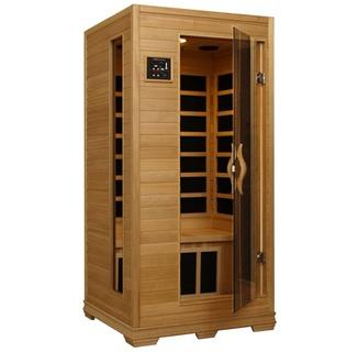 BUENA VISTA - 1 Person Infrared Sauna with CarbonHeaters