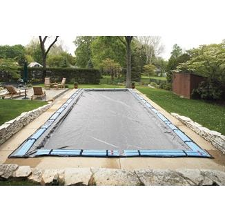 Winter Pool Cover - In Ground Pool - 20 year Warranty (Silver)