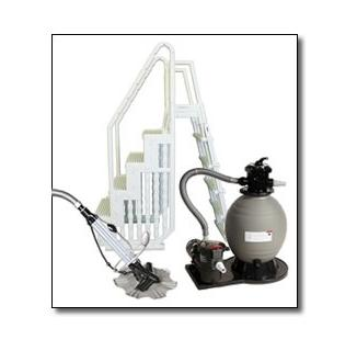 Supreme Pool Equipment Package with Sand Filter