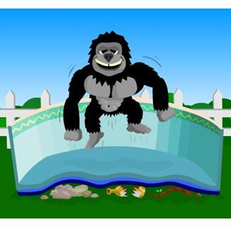 Gorilla Pad Pool Bottom Floor Padding Pc Pools