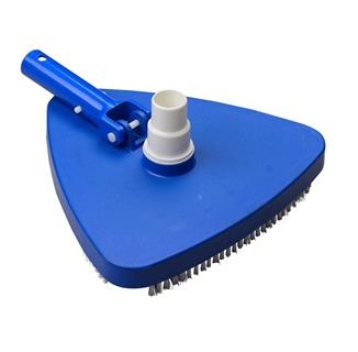 Deluxe Triangle Pool Vacuum Head with Swivel, 1.25-1.5-in.