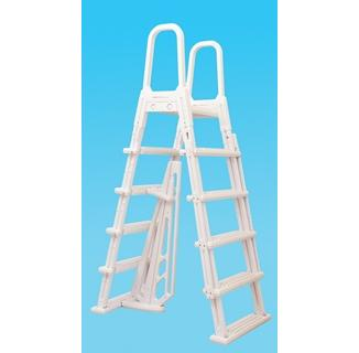 A Frame Flip Up Ladder