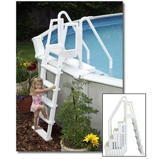 Easy Pool Step w/outside ladder