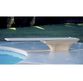 La Mesa Dive Board Stand w/Jig (White)