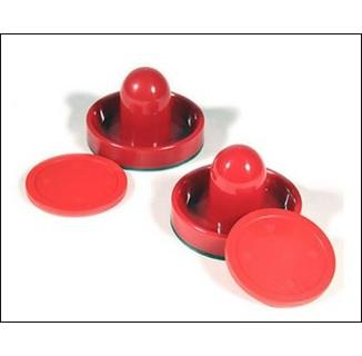 "Air Hockey 3"" Strikers & 2.5"" Pucks Set"