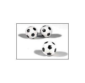3-Pack Black & White Foosballs