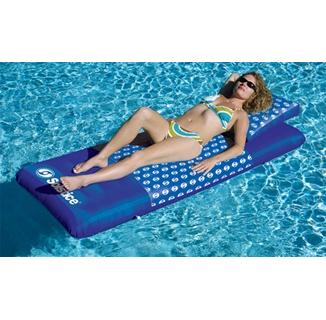 Designer Mattress™ Floating Lounger - Blue