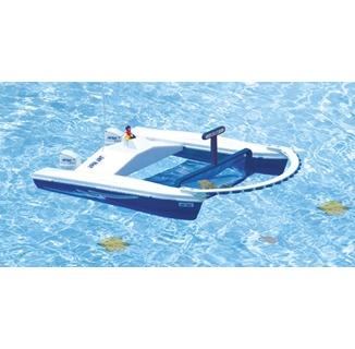 Jet Net Remote Control Boat Pool Skimmer pcpools