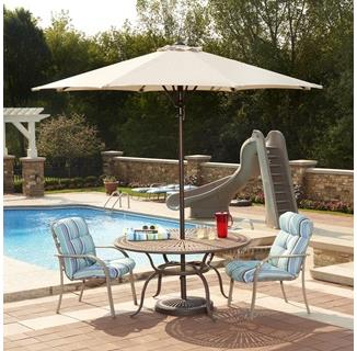 Cabo Auto-Open 9-ft Octagonal Market Umbrella