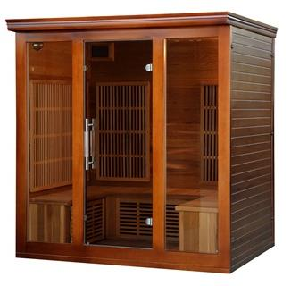Cedar Elite 4-5 Person Premium Sauna with 9 Carbon Heaters