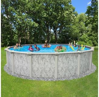 St Kitts Above Ground Pool with Uni-bead Pool Liner | PC Pools