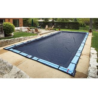 Winter Pool Cover -In Ground Pool-8 year Warranty (navy)