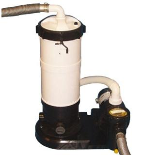 DE Filter System With 1.5 HP Pump For Above Ground Pools