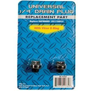 "1/4"" Plugs w/ Viton O Rings for Hayward® - 2 Pack"
