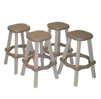 resin bar stools for outside by pool