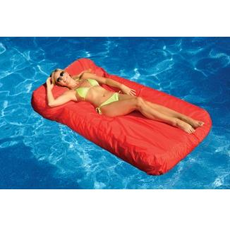 sunsoft inflatable fabric covered pool mattress