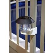 Solar Fence Light with Bracket