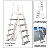 Heavy-Duty A-Frame Ladder