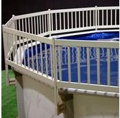 Above Ground Pool Fence Kit (Taupe)