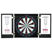 Winchester Dartboard & Cabinet Set - Black