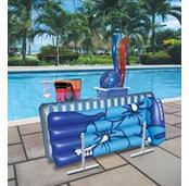 Raft, Float & Towel Caddy w/Hampers