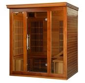 Cedar Elite 3-4 Person Premium Sauna with 9 Carbon Heaters