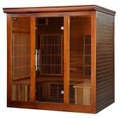 Cedar Elite 4-5 Person Premium Sauna with 9 Carbon Heaters