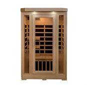 Sonoma 2-Person Hemlock Infrared Sauna with 6 Carbon Heaters